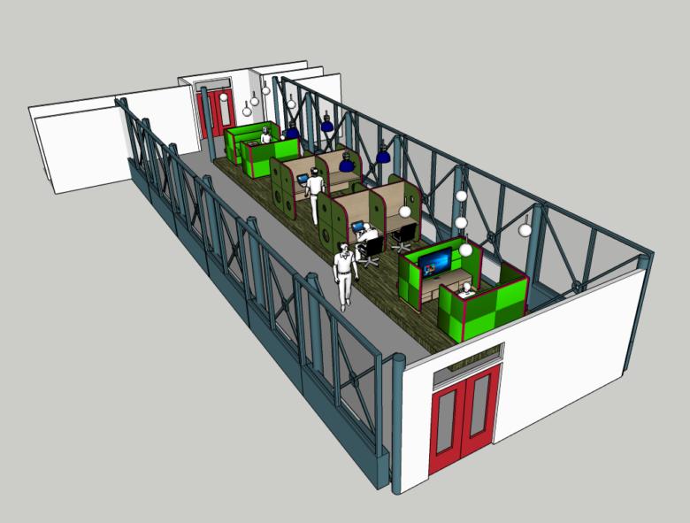 Aspen Oss luchtbrug interieurontwerp projectinrichting studio skez