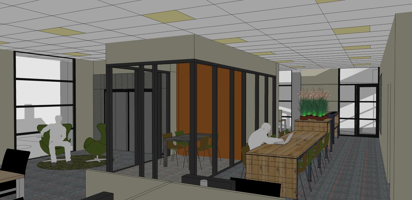 ROC van Amsterdam Tempelhofstraat teamkamer NT interieurontwerp projectinrichting studio skez-002